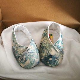 scarpine neonato modello unico azzurre